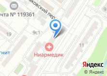 Компания «Участковый пункт полиции район Очаково-Матвеевское» на карте