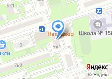 Компания «Участковый пункт полиции район Фили-Давыдково» на карте