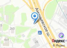Компания «Автостекла-Мкад» на карте