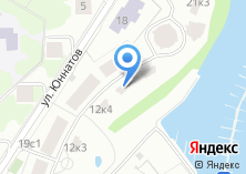 Компания «Строящийся жилой дом по ул. Юннатов (г. Химки)» на карте