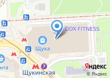Компания «Магазин цветов на Щукинской» на карте