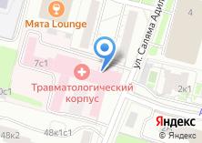 Компания «Городская клиническая больница №67» на карте
