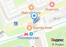Компания «Строящееся административное здание по ул. Малая Филёвская» на карте