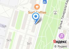Компания «Московские стальные двери» на карте