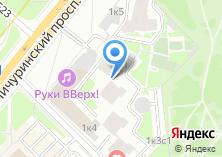 Компания «Сандык» на карте
