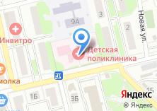 Компания «Городская детская поликлиника» на карте