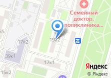 Компания «Участковый пункт полиции район Хорошёво-Мнёвники» на карте