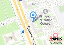 Компания «Инекспаркет» на карте