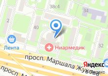 Компания «Маршала Жукова 38-1» на карте
