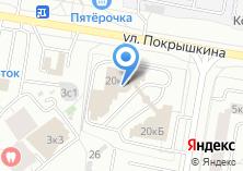 Компания «Главное Управление Пенсионного фонда РФ №4 г. Москвы и Московской области» на карте