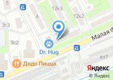 Компания «Здравствуйте» на карте