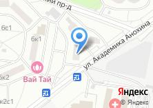 Компания «Ясень» на карте