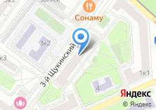 Компания «Участковый пункт полиции район Щукино» на карте