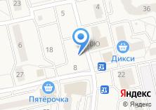 Компания «Magic» на карте