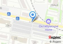 Компания «Автостоянка МГСА Северо-Западный административный округ» на карте