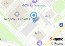 Компания «1ый Московский» на карте