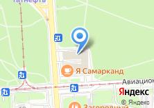 Компания «Автомойка на Авиационной» на карте