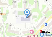 Компания «Средняя общеобразовательная школа №2077» на карте