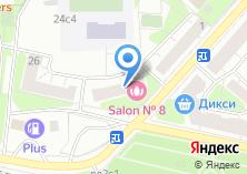 Компания «Магазин фруктов и овощей на ул. Берзарина» на карте