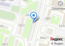 Компания «Хорошево-Мневники» на карте