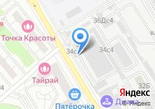 Компания «СК-Авто» на карте