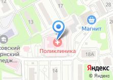 Компания «Левобережная городская поликлиника» на карте