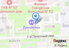 Компания «Динамика» на карте