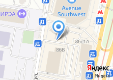 Компания «Магазин обуви и сумок на проспекте Вернадского» на карте