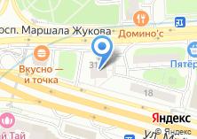 Компания «РЭУ №1 района Хорошево-Мневники» на карте