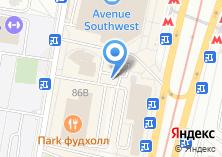 Компания «Магазин постельного белья на проспекте Вернадского» на карте