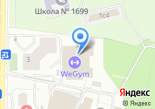 Компания «World Gym» на карте
