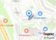 Компания «ОДС Инженерная служба района Раменки» на карте