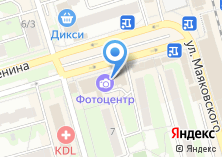 Компания «Центральная оптика» на карте