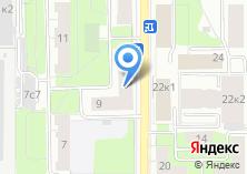 Компания «ЯНИНВЕСТ» на карте