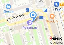 Компания «Танцы.ру» на карте
