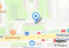 Компания «Раторин» на карте