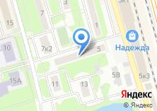 Компания «Почтовое отделение №141730» на карте