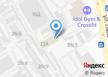 Компания «Мосгоргеотрест» на карте