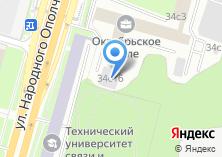 Компания «Автомойка на ул. Народного Ополчения» на карте