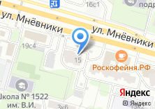 Компания «Строящийся жилой дом по ул. Мневники» на карте