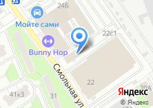Компания «Войковские колбасы» на карте