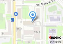 Компания «Иридий» на карте