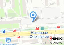Компания «Мебельный магазин на проспекте Маршала Жукова» на карте