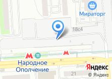 Компания «Магазин бижутерии на проспекте Маршала Жукова» на карте