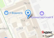 Компания «Центральная автошкола Москвы» на карте