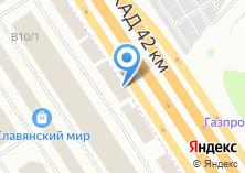 Компания «Компания по производству и продаже дверей» на карте
