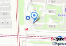 Компания «Участковый пункт полиции Войковский район» на карте