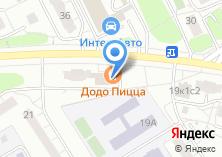 Компания «Дэнио» на карте