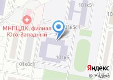 Компания «Средняя общеобразовательная школа №807» на карте