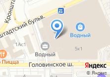 Компания «Строящееся административное здание по ул. Головинское шоссе» на карте